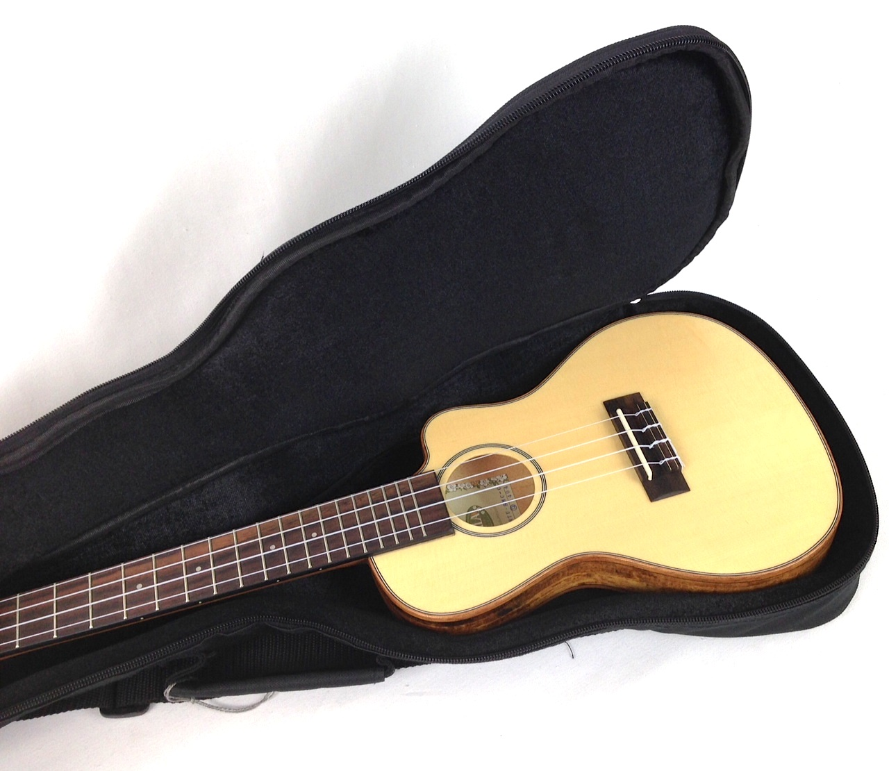 Dean Guitars Ukulele Travel Uke: Kala Thinline Travel Ukulele