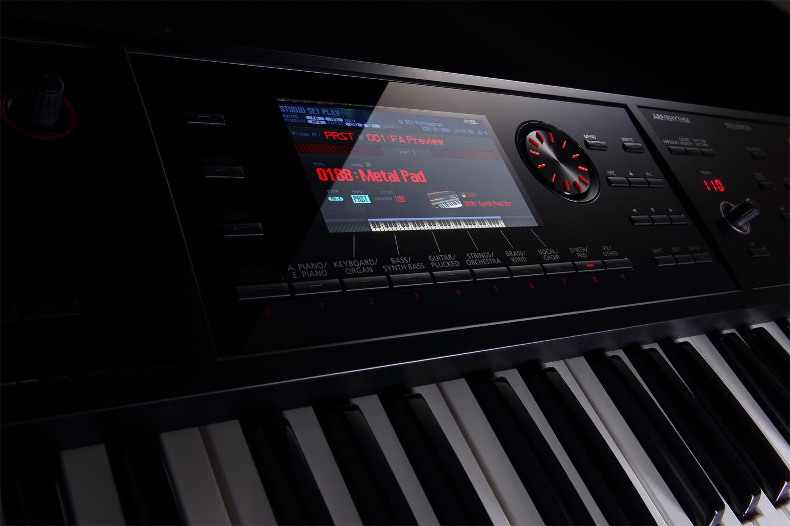 roland fa 08 88 key workstation. Black Bedroom Furniture Sets. Home Design Ideas