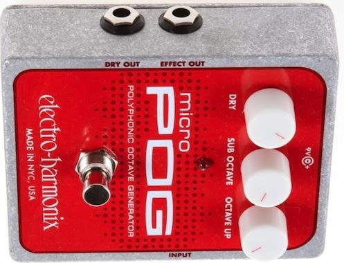 electro harmonix micro pog octave pedal. Black Bedroom Furniture Sets. Home Design Ideas