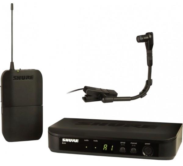 shure blx14 b98 wireless instrument microphone system. Black Bedroom Furniture Sets. Home Design Ideas
