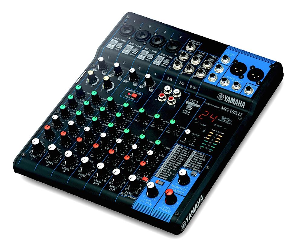 Yamaha Mg10xu Mixer W   Usb Connection