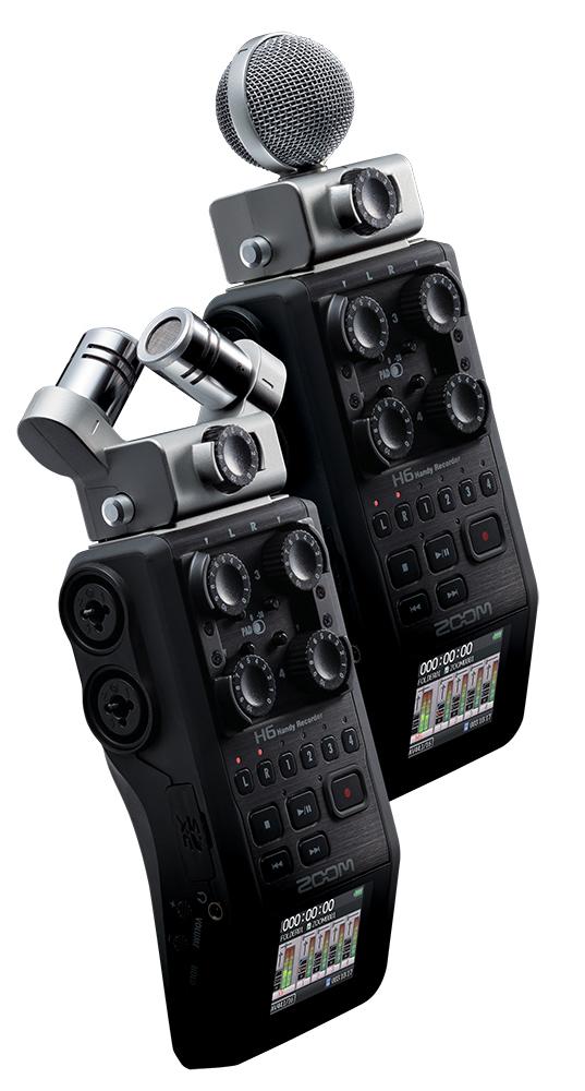 zoom h6 six track portable recorder. Black Bedroom Furniture Sets. Home Design Ideas