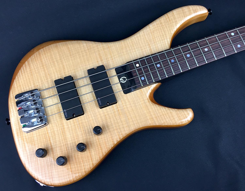g gould ggi4 4 string bass fiddleback maple natural. Black Bedroom Furniture Sets. Home Design Ideas