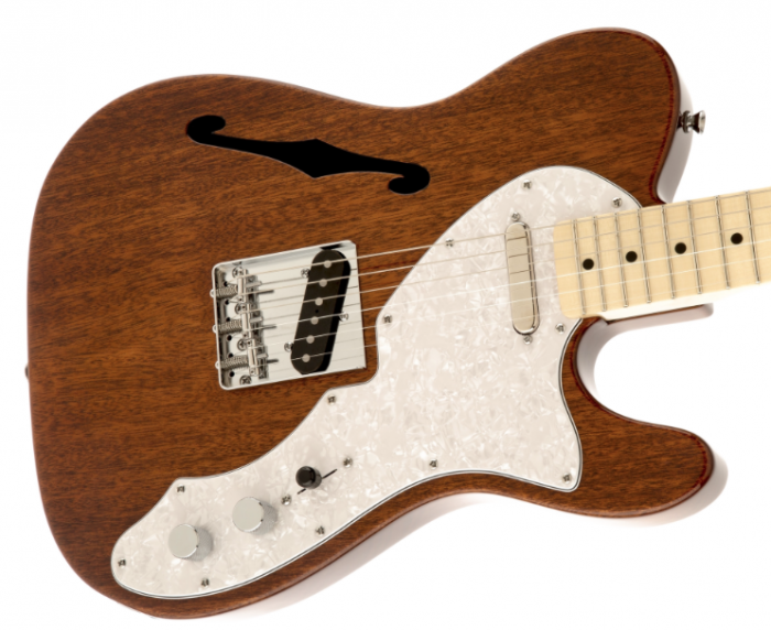 squier classic vibe telecaster thinline mahogany maple. Black Bedroom Furniture Sets. Home Design Ideas