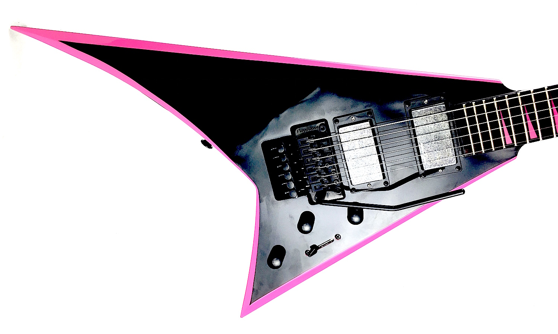 Jackson Randy Rhoads Rrx24 Black Gloss Neon Pink
