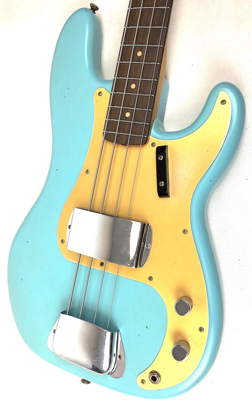 Fender Custom Bass : fender custom shop 1959 precision bass daphne blue rosewood ~ Hamham.info Haus und Dekorationen